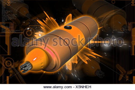 tool object graphics colour male masculine illustration electric nostril nose - Stock Photo