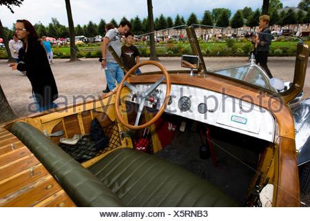 Mathis MYN Torpedo, F 1930 Vintage Car Gala, Schwetzingen, Baden Wuerttemberg, Germany - Stock Photo