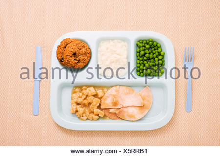 A childs dinner - Stock Photo
