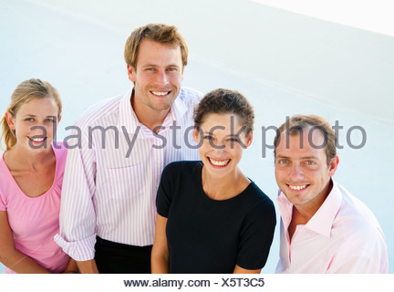 Happy business team - Stock Photo