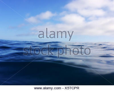Close-up of the ocean - Stock Photo