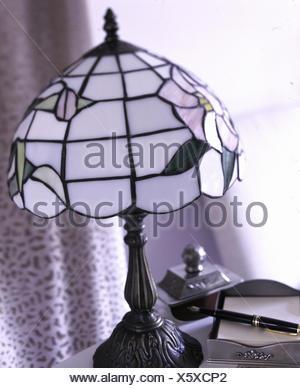 Art Nouveau lamp - Stock Photo