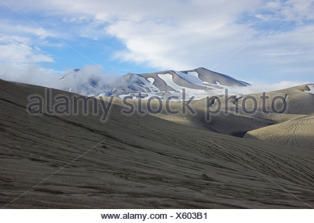 Puyehue view from Cordon Caulle, Chile, Patagonia - Stock Photo