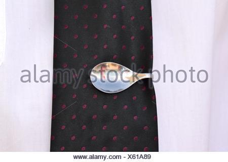 original tie clip - Stock Photo