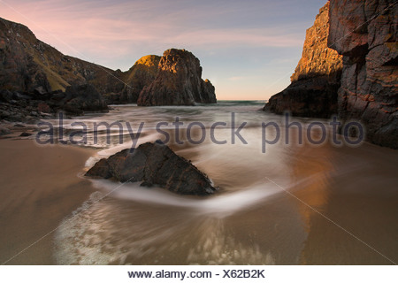 Traigh Ghearadha beach, Lewis, Outer Hebrides, Scotland - Stock Photo