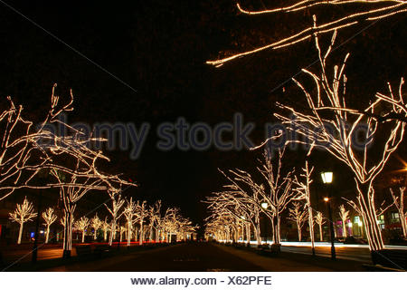 berlin in vorweihnachtsglanz - Stock Photo