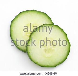 Slices of cucumber - Stock Photo