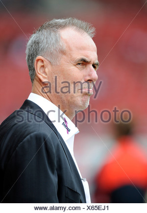 Manager Rolf Dohmen, Karlsruher SC - Stock Photo