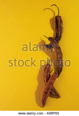 Mirasol hot pepper - Stock Photo