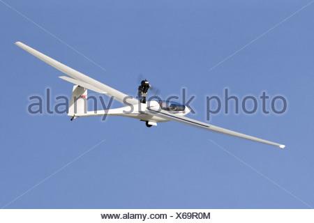 PIK-20 Aircraft in Flight - Stock Photo