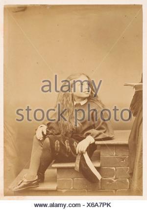 Le montagnard. Artist: Pierre-Louis Pierson (French, 1822-1913); Date: 1860s; Medium: Albumen silver print from glass negative; Dimensions: 8.6 x - Stock Photo