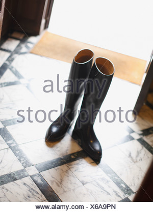 Boots without owner - Stock Photo