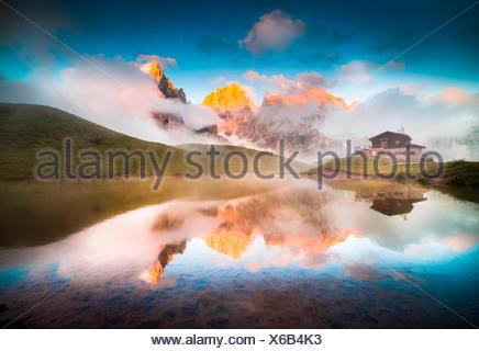Pale di San Martino, Trentino alto Adige, Italy - Stock Photo