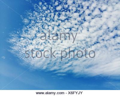 Low Angle View Of Cloudy Sky - Stock Photo