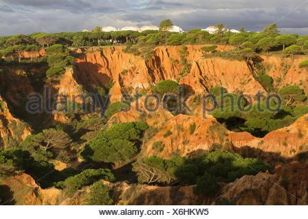 Praia de Falesia in Olhos de Agua - Stock Photo