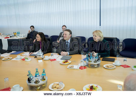 SPD party leadership meeting - Stock Photo