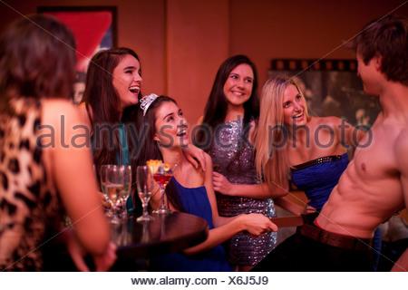 stripper Women male hen party