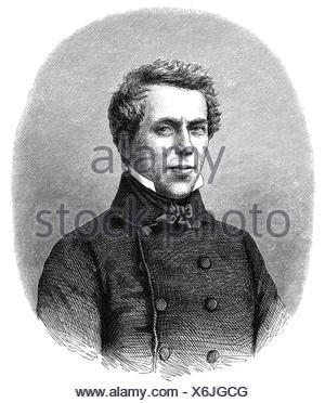Loedel, Heinrich, 1798 - 1861, German printmaker, portrait, wood engraving, 19th century, , - Stock Photo