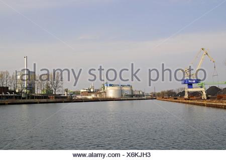Dortmund-Ems Canal - Stock Photo