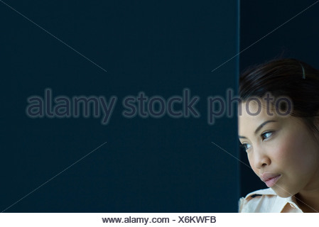 Woman daydreaming - Stock Photo