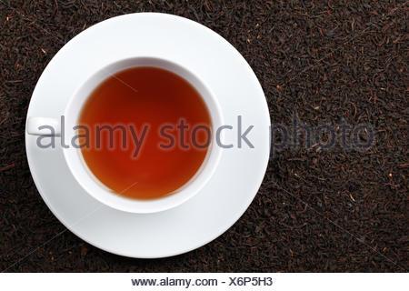 Schwarzer Tee - Stock Photo