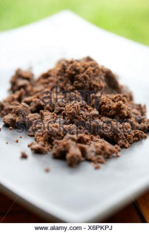 Dark Muscavado Sugar - Stock Photo