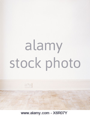 An empty room - Stock Photo