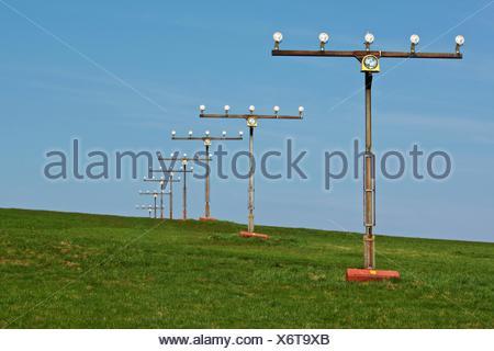 einflugschneise - Stock Photo