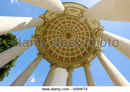 Monopteros, Englischer Garten, München, Oberbayern, Bayern, Deutschland - Stock Photo