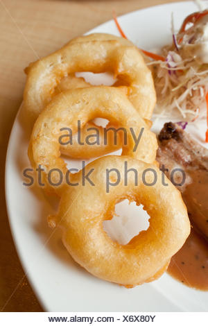 Onion ring - Stock Photo