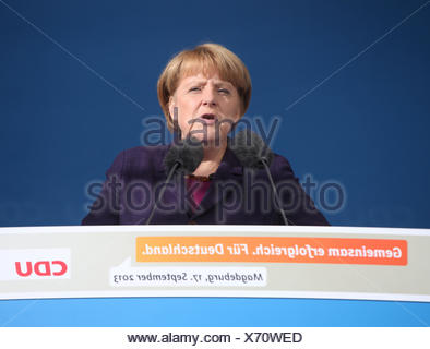 Angela Merkel - Stock Photo