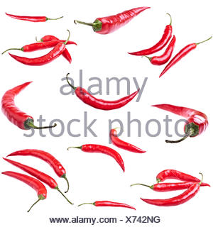 Red Hot Chili Peppers - isolated - Stock Photo