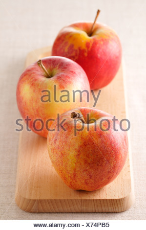 Royal gala apples - Stock Photo