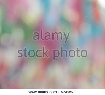 Abstract cool and sweet color bokeh background - Stock Photo