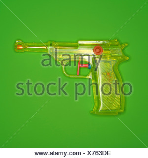 Water pistol, elevated view - Stock Photo