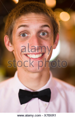 Portraits of happy people  in San Luis Obispo, CA. - Stock Photo