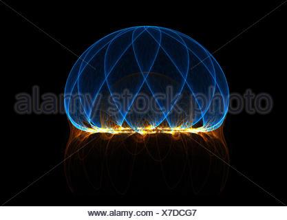 Energy field - Stock Photo