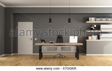 Contemporary office room - Stock Photo