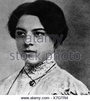 Bartok, Bela 25.3.1881 - 26.9.1945, Hungarian composer, portrait of his sister Elzaval, 1904, Additional-Rights-Clearances-NA - Stock Photo