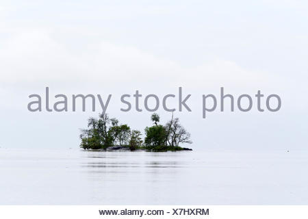 Mouth of the river in Salak South China Sea - Sarawak Borneo - Stock Photo