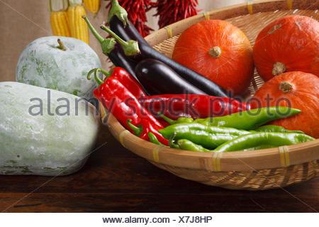 Still life of crops - Stock Photo