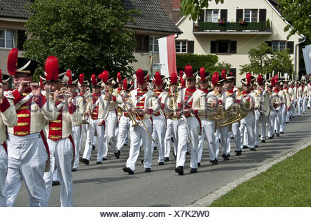 militia insel reichenau - Stock Photo