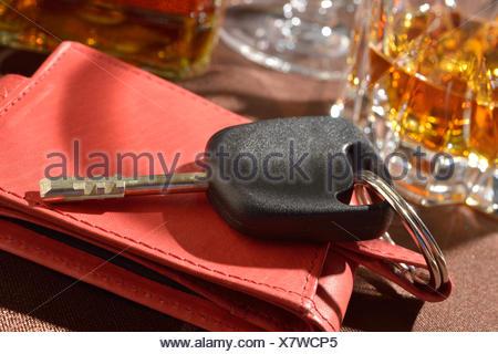 drunken driving - Stock Photo