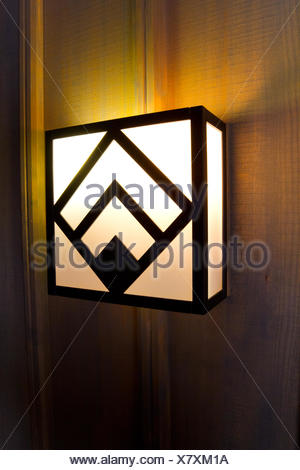 Lodge Light Fixtures - Stock Photo