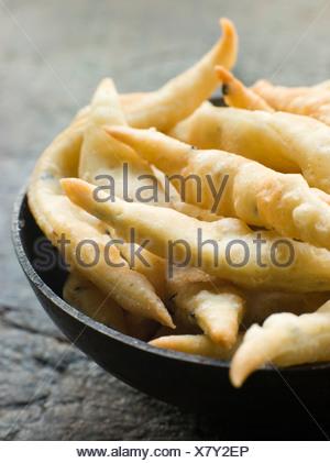 Dish of Nimki - Stock Photo