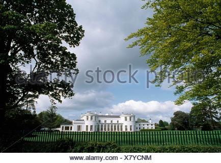 U.S. Ambassador's Residence In Phoenix Park, County Dublin, Ireland - Stock Photo