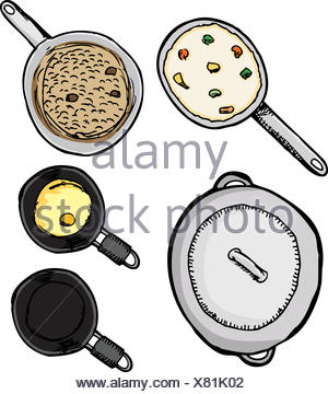 boil, cooks, boiling, cooking, food, dish, meal, supper, dinner, cooker, - Stock Photo