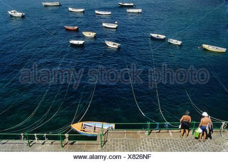 Guernsey, Saints Bay - Stock Photo
