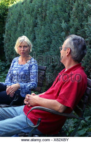 Couples and marital problems - Stock Photo