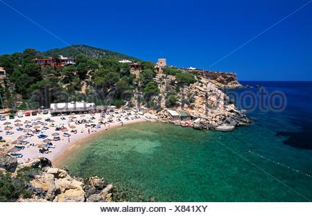 Cala Carbo, Ibiza, Balearic Islands, Spain - Stock Photo